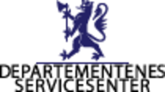 Government Administration Services - Image: Departementenes servicesenter logo