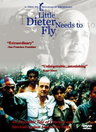Little Dieter Needs to Fly - DVD cover