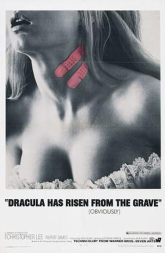 Dracula Has Risen from the Grave - US theatrical release poster