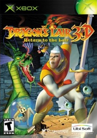 Dragon's Lair 3D: Return to the Lair - North American cover art for Xbox