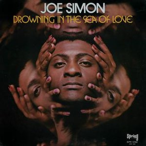 Drowning in the Sea of Love (album) - Image: Drowing in the Sea of Love Joe Simon album