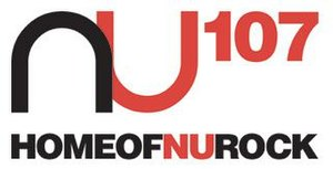 Pinoy rock - The logo of defunct Pinoy rock radio station, NU 107.