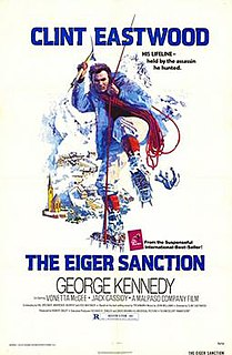 <i>The Eiger Sanction</i> (film) 1975 film by Clint Eastwood
