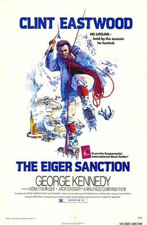 The Eiger Sanction (film) - Theatrical release poster