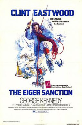 The Eiger Sanction (film) - Theatrical release poster by John Alvin