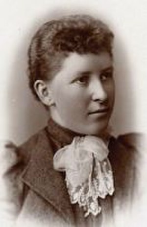 Elmina Wilson - 1892 graduation photo
