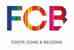 FCB (advertising agency) - Image: FCB 2014 Logo