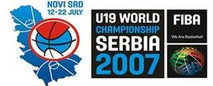 2007 FIBA Under-19 World Championship - Image: FIBA u 19 Serbia