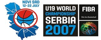 2007 FIBA Under-19 World Championship - Image: FIBA u 19 Serbia