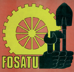 Federation of South African Trade Unions - Image: FOSATU Logo