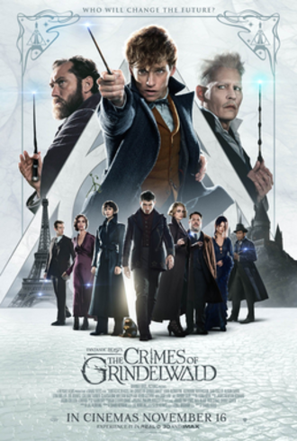 Fantastic Beasts: The Crimes of Grindelwald - Theatrical release poster