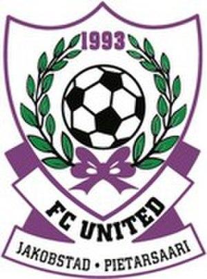 FC United (Jakobstad) - Image: Fc united pietarsaari