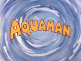 Aquaman (TV series) - The logo from Aquaman, the 1960s animated cartoon.