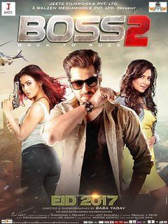 <i>Boss 2: Back to Rule</i> 2017 film by Baba Yadav