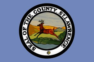 St. Lawrence County, New York - Image: Flag of St. Lawrence County, New York