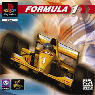 Formula 1 (video game) - PAL region cover art