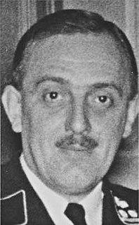 Franz Josef Huber German SS general