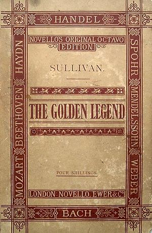The Golden Legend (cantata) - Early vocal score, c. 1889