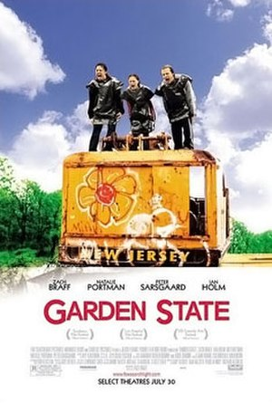 Garden State (film) - Theatrical release poster