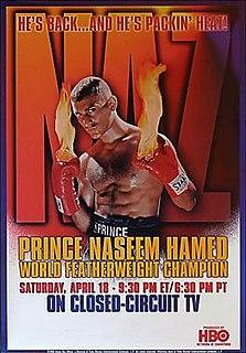 Naseem Hamed vs. Wilfredo Vázquez Boxing competition