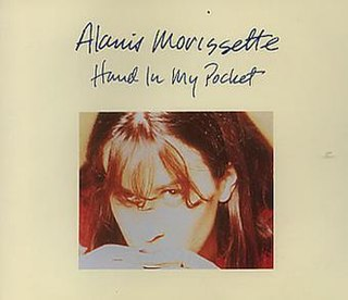 Hand in My Pocket 1995 single by Alanis Morissette