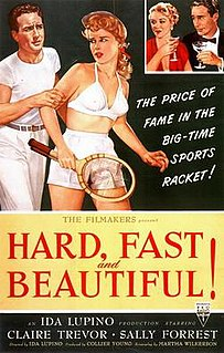 <i>Hard, Fast and Beautiful</i> 1951 film by Ida Lupino