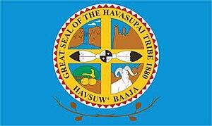 Havasupai Indian Reservation - Image: Havasupai Flag