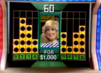 Hit Man (U.S. game show) - A contestant about to start the Triple Crown bonus round.