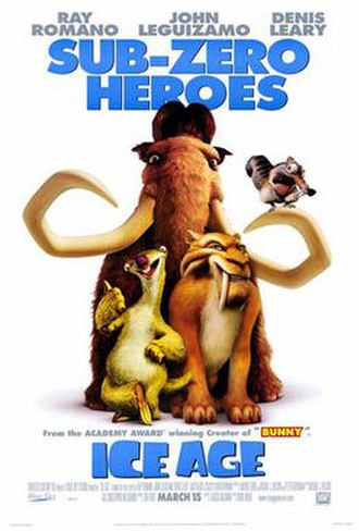 Ice Age (2002 film) - Theatrical release poster