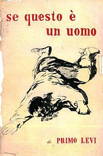<i>If This Is a Man</i> novel by Primo Levi