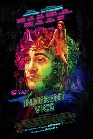Inherent Vice (film) - Theatrical release poster