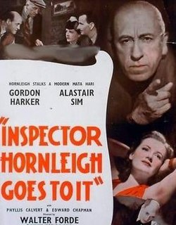 <i>Inspector Hornleigh Goes To It</i> 1941 film by Walter Forde