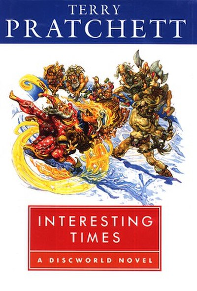 Picture of a book: Interesting Times