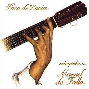Paco de Lucía interpreta a Manuel de Falla - Image: Interpreta a Manuel de falla
