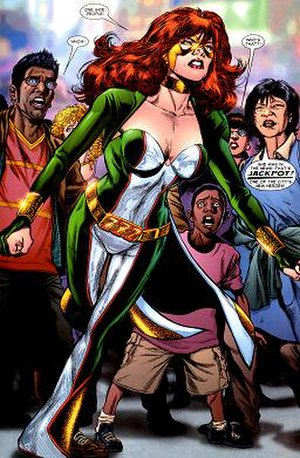 Jackpot (comics) - Image: Jackpot Marvel Comics