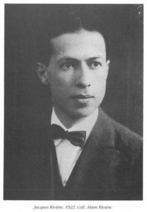 Jacques Rivière - Image: Jacques Rivière 1922