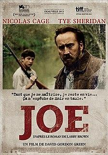 <i>Joe</i> (2013 film) 2013 drama film by David Gordon Green