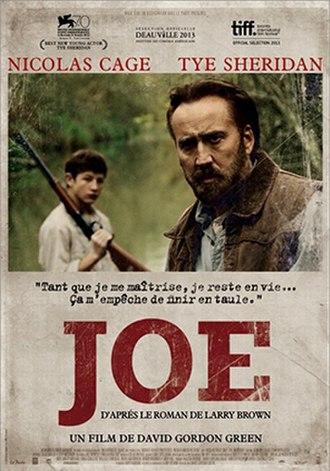 Joe (2013 film) - Theatrical release poster