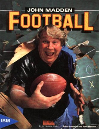 John Madden Football (1988 video game) - Cover art