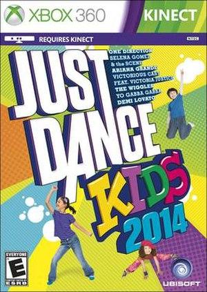 Just Dance Kids 2014 - North American Box art