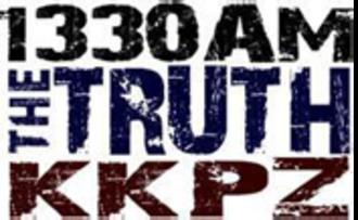 KKPZ - Image: KKPZ 1330AMThe Truth logo