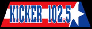 KKYR-FM - Image: KKYR KICKER102.5 logo