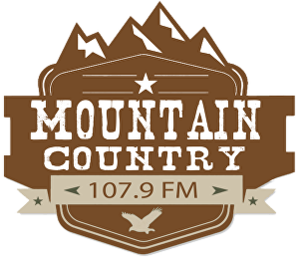 KRLY-LP - Image: KRLY Mountain Country 107.9FM logo