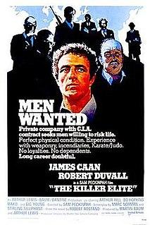 <i>The Killer Elite</i> 1975 film by Sam Peckinpah