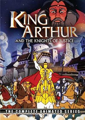 King Arthur and the Knights of Justice - Cover of the Image Entertainment DVD release