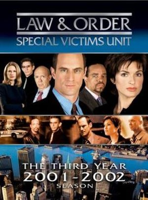 Law & Order: Special Victims Unit (season 3) - Season 3 U.S. DVD cover
