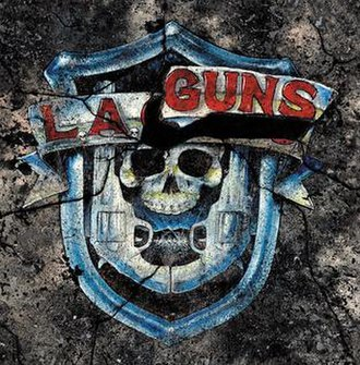 The Missing Peace (album) - Image: LA Guns The Missing Peace Cover