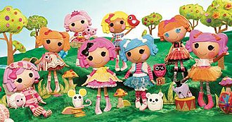 Rag doll - MGA Entertainment's Lalaloopsy brand