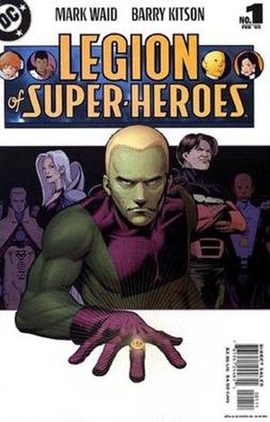 Legion of Super-Heroes (2004 team) - Image: Legion v 5 1