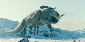 Appa (character) -  Appa as he appears in the live action movie The Last Airbender.